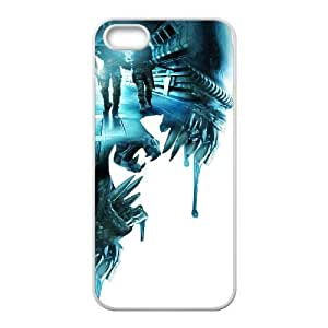 iphone5 5s White phone case aliens colonial marines WCT4290999