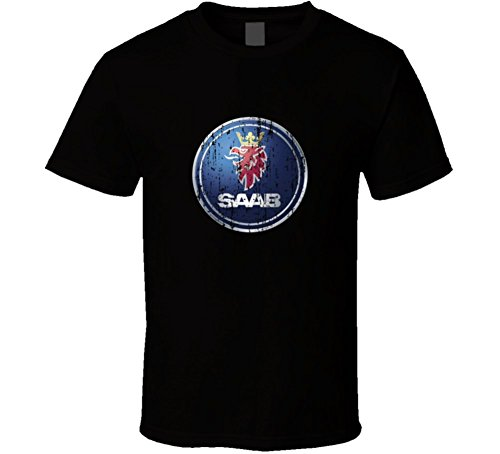 saab-car-distressed-worn-look-t-shirt-xl-black