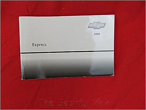 manual chevrolet express 2006