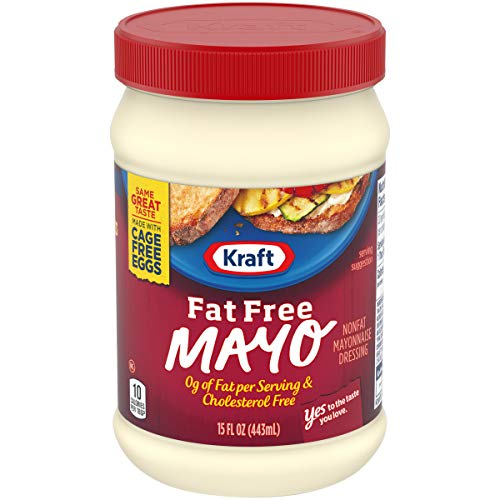 Zero Fat - Kraft Fat Free Mayonnaise (15 oz Jar)