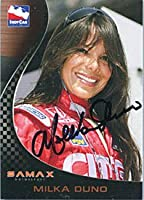 Milka Duno Autographed/Signed 2007 Indy Car Card by Hollywood Collectibles