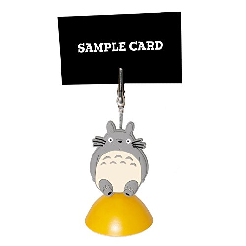DIYJewelryDepot 1 Pc Totoro Ghibli PVC Photo Clip Business Card Office Memo Holder