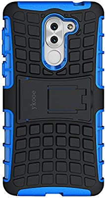 ykooe Funda Honor 6X, Honor 6X Teléfono Híbrida de Doble Capa con ...