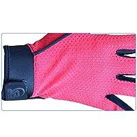 JwlqAy Biking Cycling Gloves Full finger antiscivolo guanto traspirante per arrampicata guanti da uomo e da donna (S)