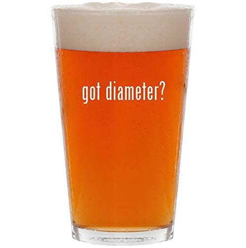 (got diameter? - 16oz All Purpose Pint Beer Glass)