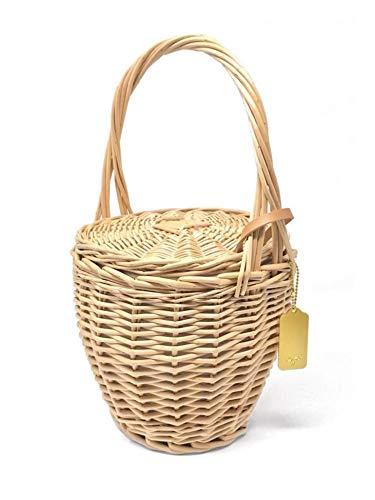 Cuckoo B Jane Straw Basket Handbag (Wicker Jane)