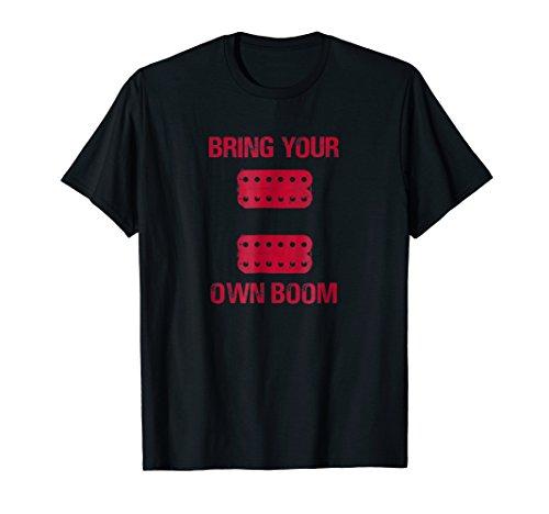 BYOB Active Passive Humbuckers Pickups Lead Rhythm T-Shirt (Rhythm Humbucker)