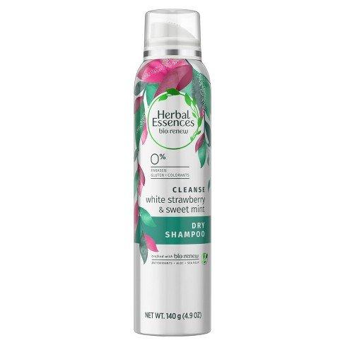 Herbal Essences White Strawberry & Sweet Mint Dry Shampoo, 4
