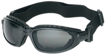 - Liberty ProVizGard Challenger Sporty Goggle with Removable Headband, Gray Lens, Black Strap (Case of 6 Pairs)