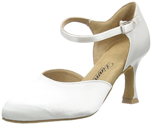 DiamantDiamant Brautschuhe Standard Tanzschuhe 051-085-092 - Zapatillas de Baila Moderno y Jazz Mujer Blanco - blanco