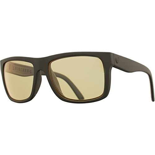 Electric Visual Swingarm S Matte Black/OHM+Clear Sunglasses by Electric