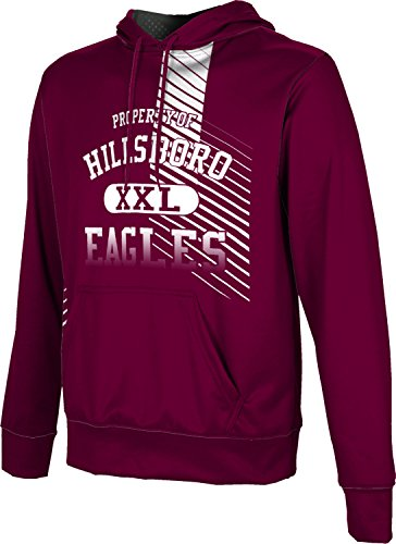 ProSphere Men's Hillsboro High School Hustle Hoodie Sweatshirt (Apparel) - 76645 Tx Hillsboro