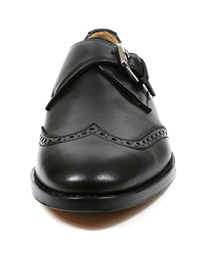 Zapatos Bracey Black Lauren Oxford Polish Ralph Cal negro Hing 7qaF5Pt