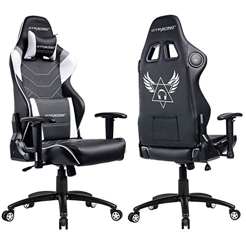 Office chair with speakers 500 Dollar Gtracing Music Gaming Chair With Bluetooth Speakerspatented Audio Racing Office Chair Heavy Duty 400lbs Ergonomic Multifunction Esports Chair For Pro Dianeheilemancom Gtracing Music Gaming Chair With Bluetooth Speakerspatented