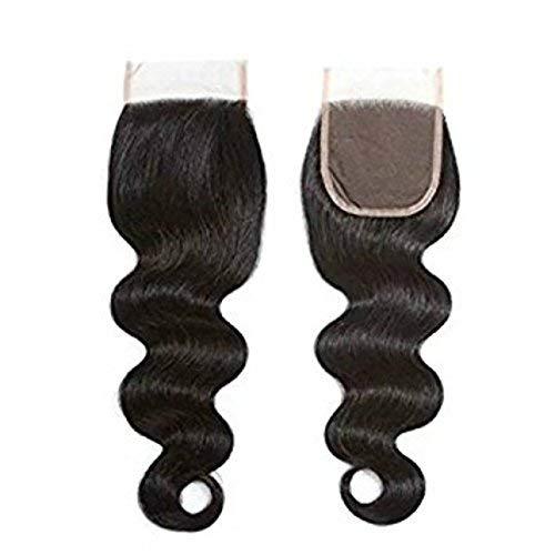 Queen Love Hair 4x4 Lace Closure Free Part Body Wave Virgin Hair lace closure