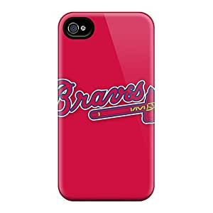 New Arrival Case Cover With GXl1802Gcdp Design For Iphone 6- Baseball Atlanta Braves 4