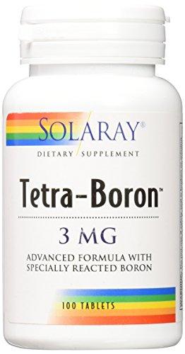 Solaray Tetra Boron Capsules Count product image
