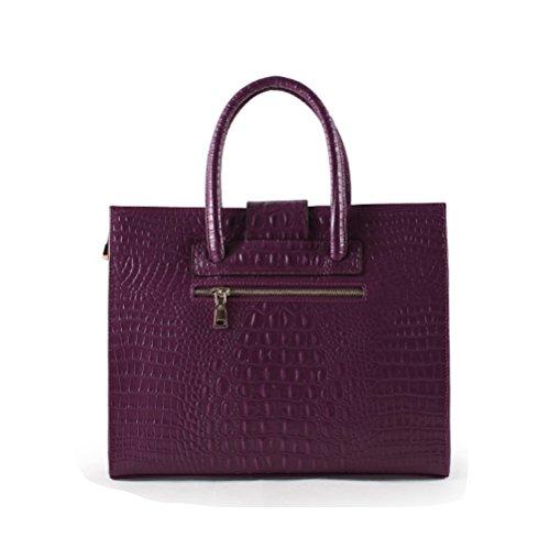 ZM Main Mode à Main Bourse Bandoulière Femmes Sacs Pour Sacs Femmes À Sacs De Purple Élégants Femmes À Les Totes Sac rqzrxPXTw