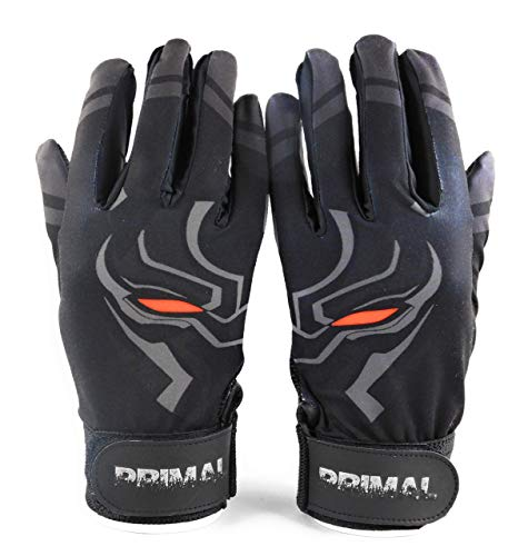 (Primal Baseball Pitted Leather Panther Baseball Batting Gloves -)
