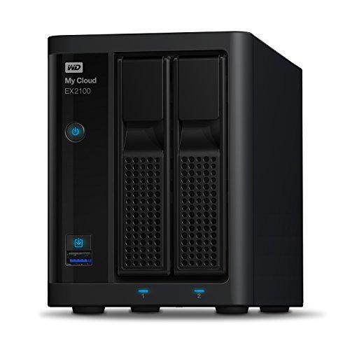 Western Digital 4TB My Cloud EX2100 Expert Series 2-Bay NAS Festplatte - LAN - WDBWAZ0040JBK-EESN