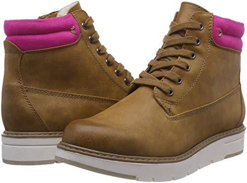 TOZZI MARCO Corn Damen Gelb Pink 21 609 Combat 26244 Boots dr0dFBSwq