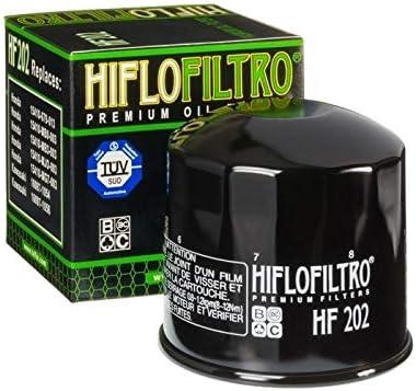 Motodak Filtre /à Huile hiflofiltro hf202 Noir