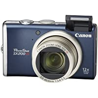 Canon PowerShot SX200IS 12.1 MP Digital Camera with 12x Wide Angle Optical Image Stabilized Zoom and 3.0-inch LCD (Blue) Benefits Review Image