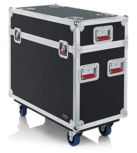 Gator Cases G-TOUR ATA Style Road Case for Two 250 Class Moving Head Style Lights (GTOURMH250) ()