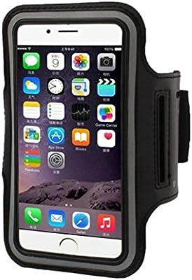 Fundido Power Universal 5.7 pulgadas Brazalete deportivo para teléfono móvil, correa móvil para iPhone 7 Plus/