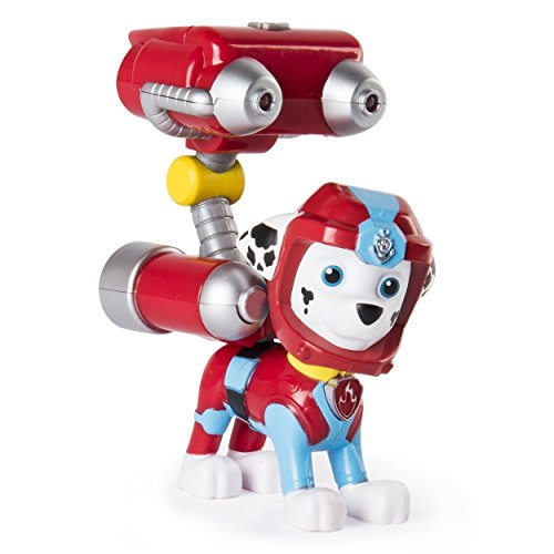 Paw Patrol Sea Patrol – Light Up Marshall With Pup Pack & Mission Card