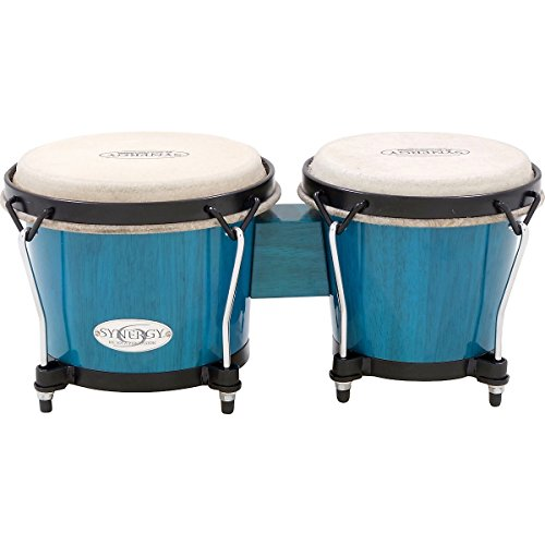 Toca Synergy Series Bongo Set Blue (Blue)
