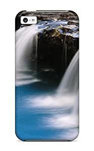 Iphone Case - Tpu Case Protective For Iphone 5c- Waterfall