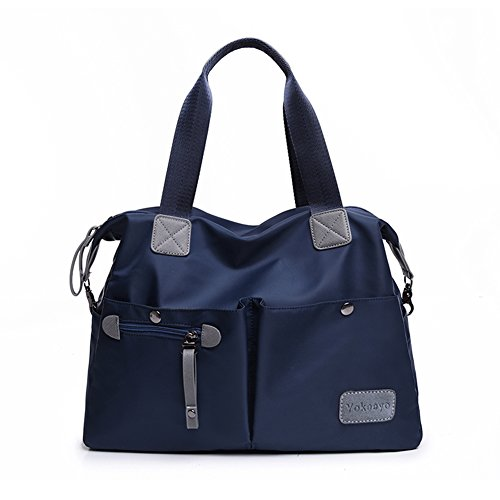 Nylon Hobo Handbags - 4