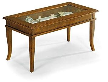 Lo scrigno arredamenti tavolino rettangolare da salotto classico