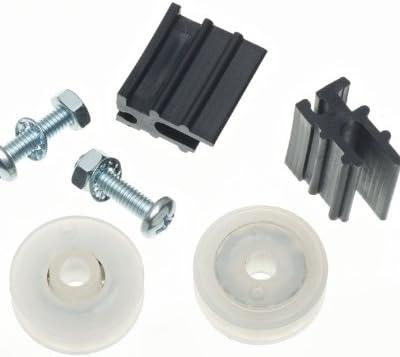 sharprepublic 13pcs Taille Mixte Capuchon Dextr/émit/é en Argent avec Fermoir pour 5mm /à 8mm Cordon De Cuir Cordon De Perles pour La Fabrication De Bijoux Artisanat