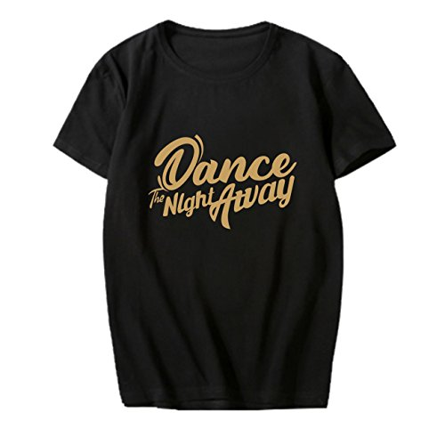 babyHealthy Kpop TWICE New Album Dance The Night Away Same T-Shirt Tzuyu Momo Sana Tee ()