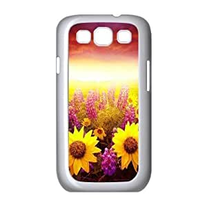 Sunflower ZLB587287 Personalized Phone Case for Samsung Galaxy S3 I9300, Samsung Galaxy S3 I9300 Case