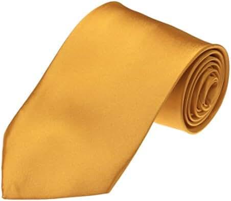 DAA3E01 Mens Tie Multi Solid Microfiber Beautiful Neckties Xmas Gift By Dan Smith