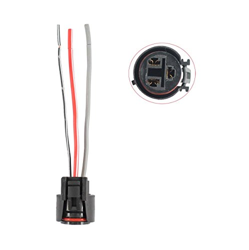 (New by XtremeAmazing 3 Wire Alternator Harness Repair Plug Connector For Chevy Suzuki Denso Toyota)