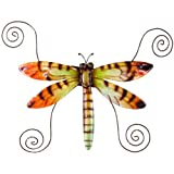 Deco Flair Dragonfly Capiz Shell Magnet Photo Holder