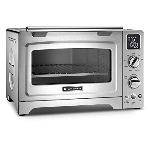KitchenAid KCO275AQ Convection 1800-watt Digital Countertop Oven, 12-Inch, Aqua Sky