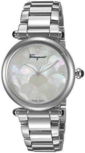 Salvatore-Ferragamo-Womens-IDILLIO-Quartz-Stainless-Steel-Casual-Watch-ColorSilver-Toned-Model-FCH040016