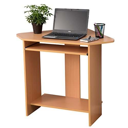 Compact Corner Computer Desk Amazoncom Go2buy Small Spaces