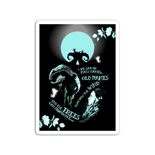 BreathNenStore Sticker Motion Picture Pans Labyrinth Movies Video Film (3