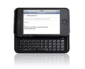 Nuu K1 - English MiniKey - Keyboard - Retail Packaging - Black