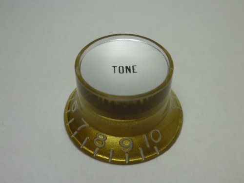 ((MADE IN JAPAN)High Quality Reflector Knob,Embossed,Gold,(inch),Silver plate,Tone)