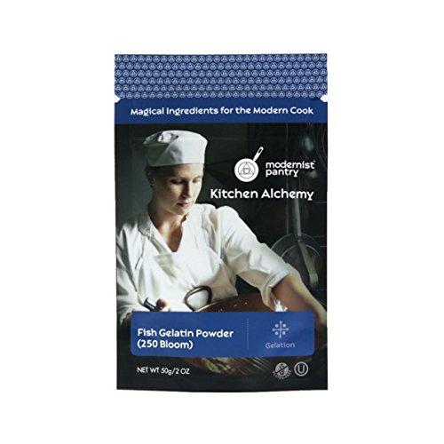 Pure Fish Gelatin Powder ✡ OU Kosher Certified - - Raspberry Sheet 50