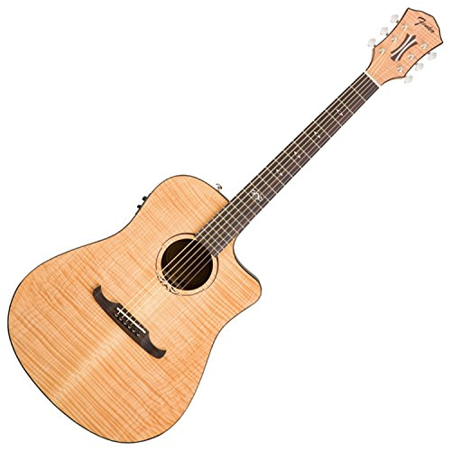 Fender 0968077021 T-Bucket 400 Acoustic Electric Guitar, Rosewood Fingerboard - Natural