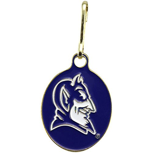 NEW! Duke Blue Devils U Can Zip It Gym Bag, Luggage, Jacket, Purse Zipper Pull Duke Blue Devils Gym Bag