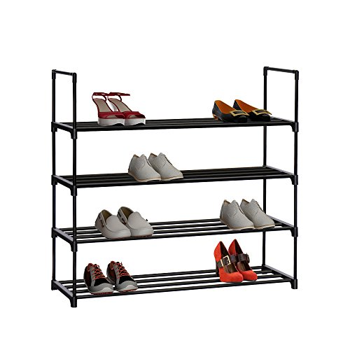Homebi 4-Tier Shoe Rack